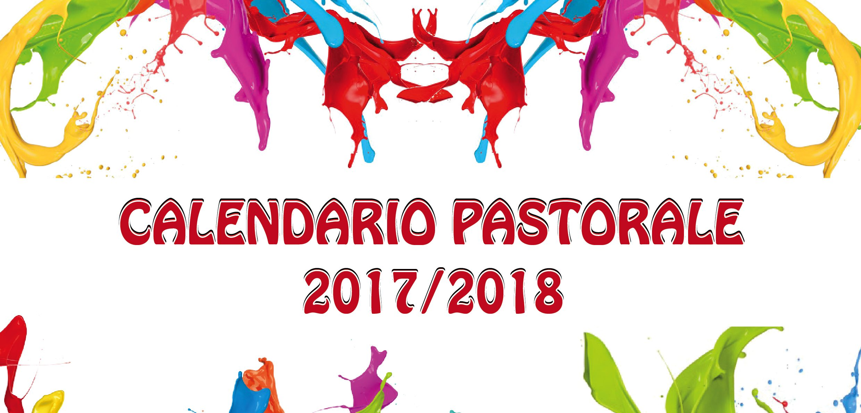 Calendario pastorale 2017-2018