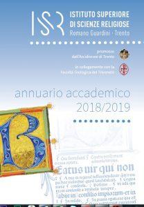 Accedi all'Annuario ISSR 2018-2019