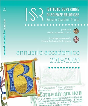 Accedi all'Annuario ISSR 2019-2020