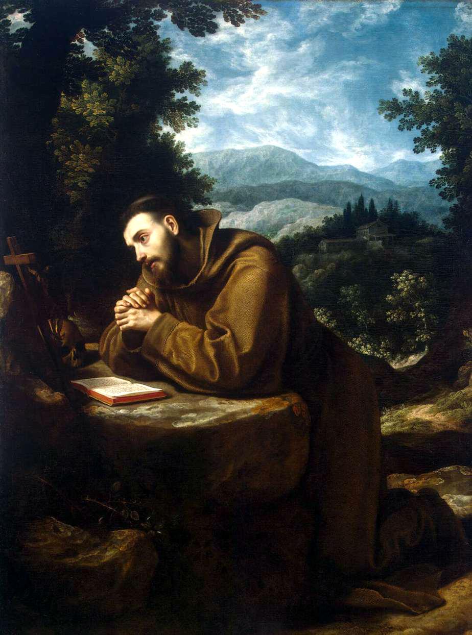 Francesco d'Assisi - Ludovico Cigoli