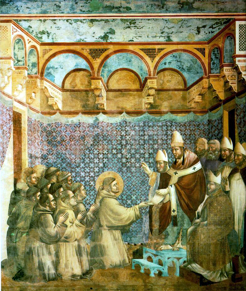 S.Francesco - Conferma della Regola (Giotto)