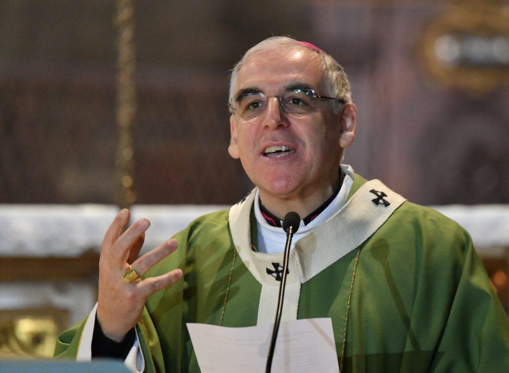 cattedrale di trento 9 febbraio 2020 - s Messa nel centenario di Chiara Lubich- vescovo Lauro Tisi