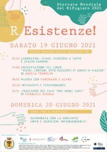 Giornata Mondiale del Rifugiato – R_Esistenze! – Rovereto, 19 e 20 giugno